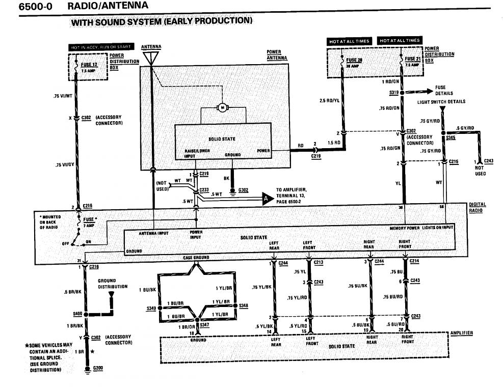 need stock radio and amp wiring diagram asap please, Wiring diagram